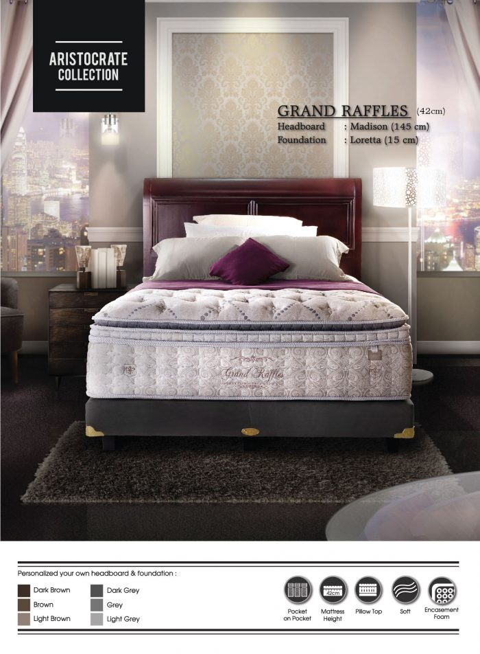 Grand Raffles Madison - Central Spring Bed