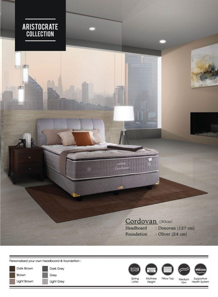Cordovan - Central Spring Bed